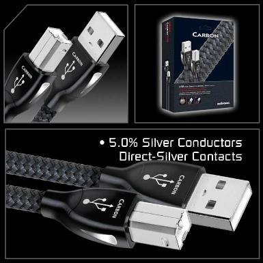 Dây USB Audioquest CARBON, A to B, 0.75m, 1m, 1.5m