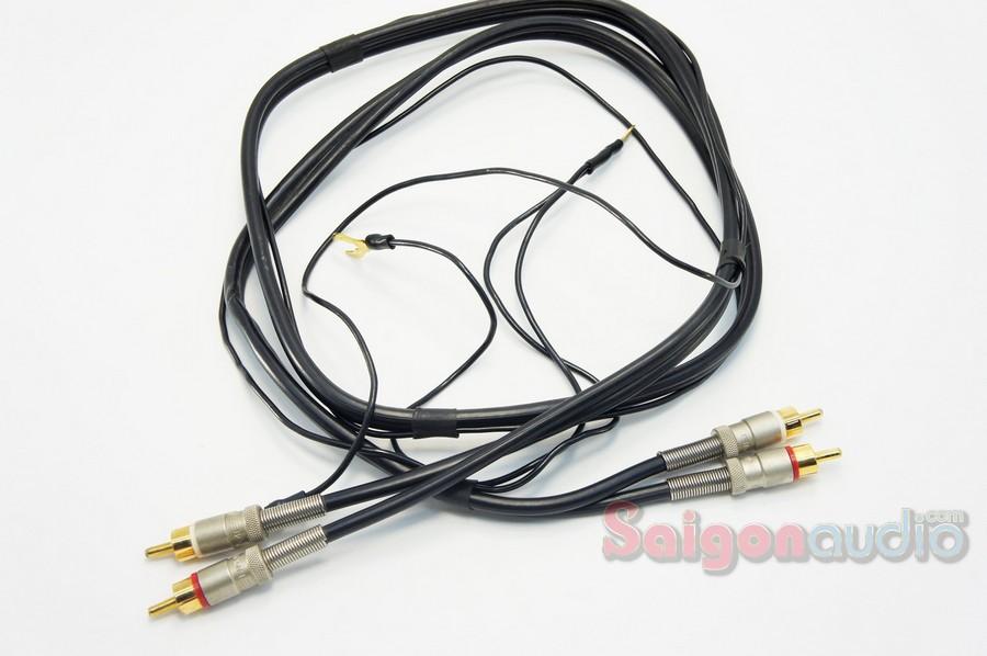 Dây phono SME Gold RCA>RCA / 5Pin>RCA | 0.6m, 1m2