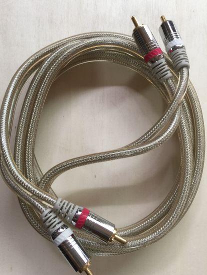 Dây tín hiệu RCA, 2m x 2
