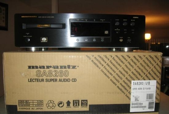 Đầu CD/ SACD Marants SA-8260, box