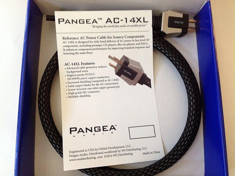 Dây nguồn Pangea 14XL đầu IEC C15 và C7 (số 8), 1m5