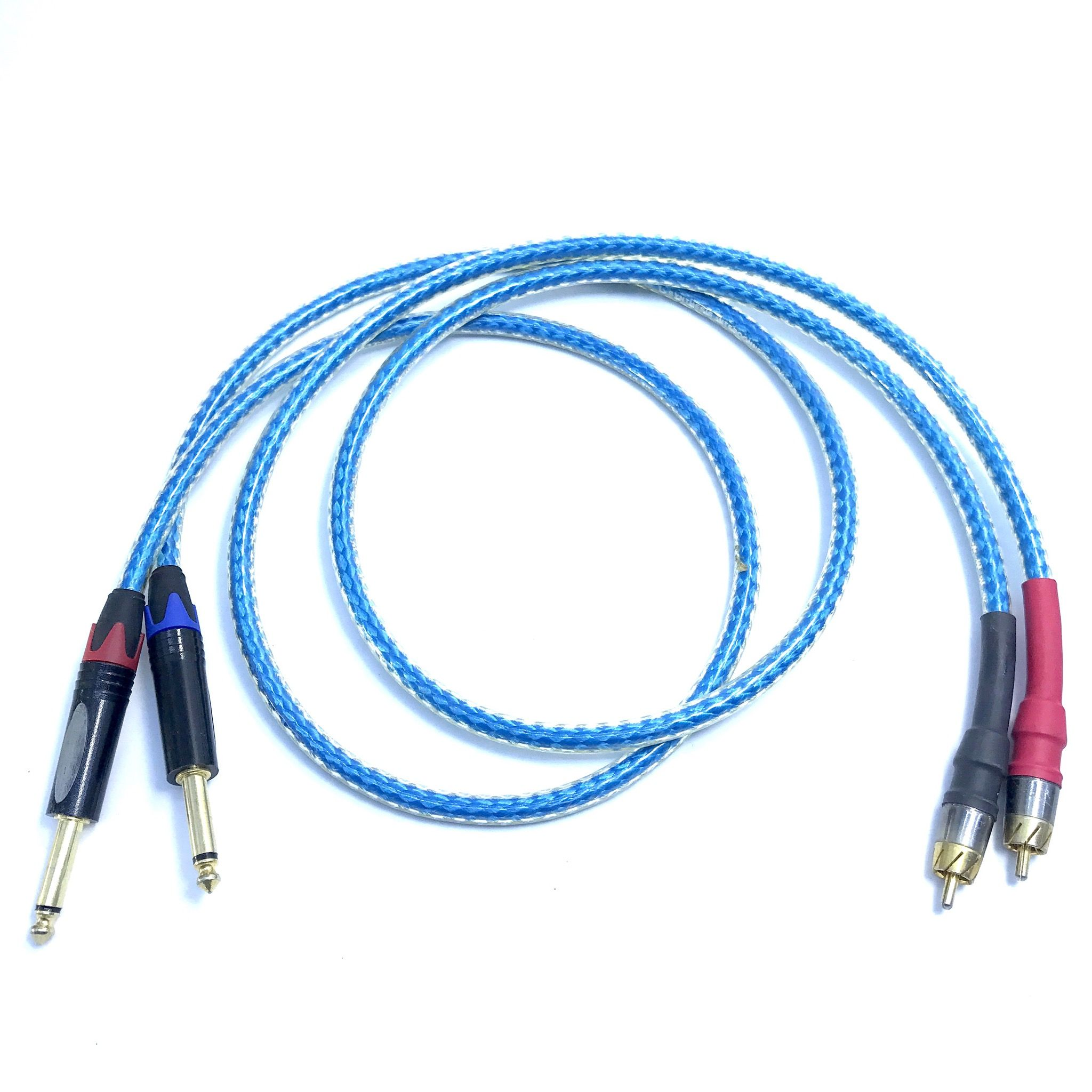 Dây tín hiệu Straightwire 1/4, 6.3mm <> RCA, 1m