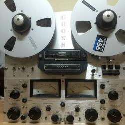 Băng cối reel to reel Crown 800 / 822 / 824