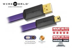 Dây USB Wireworld Ultraviolet 7, A to mini-B | 0.5m, 2m, box