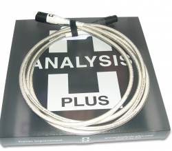 Dây tín hiệu Analysis Plus SILVER OVAL-IN, XLR Balanced, 1m