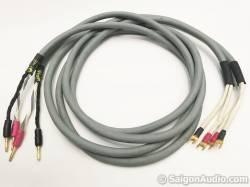 Dây loa Audioquest CRYSTAL Hyperlitz, Bi-wire/ Single-wire, 2m5