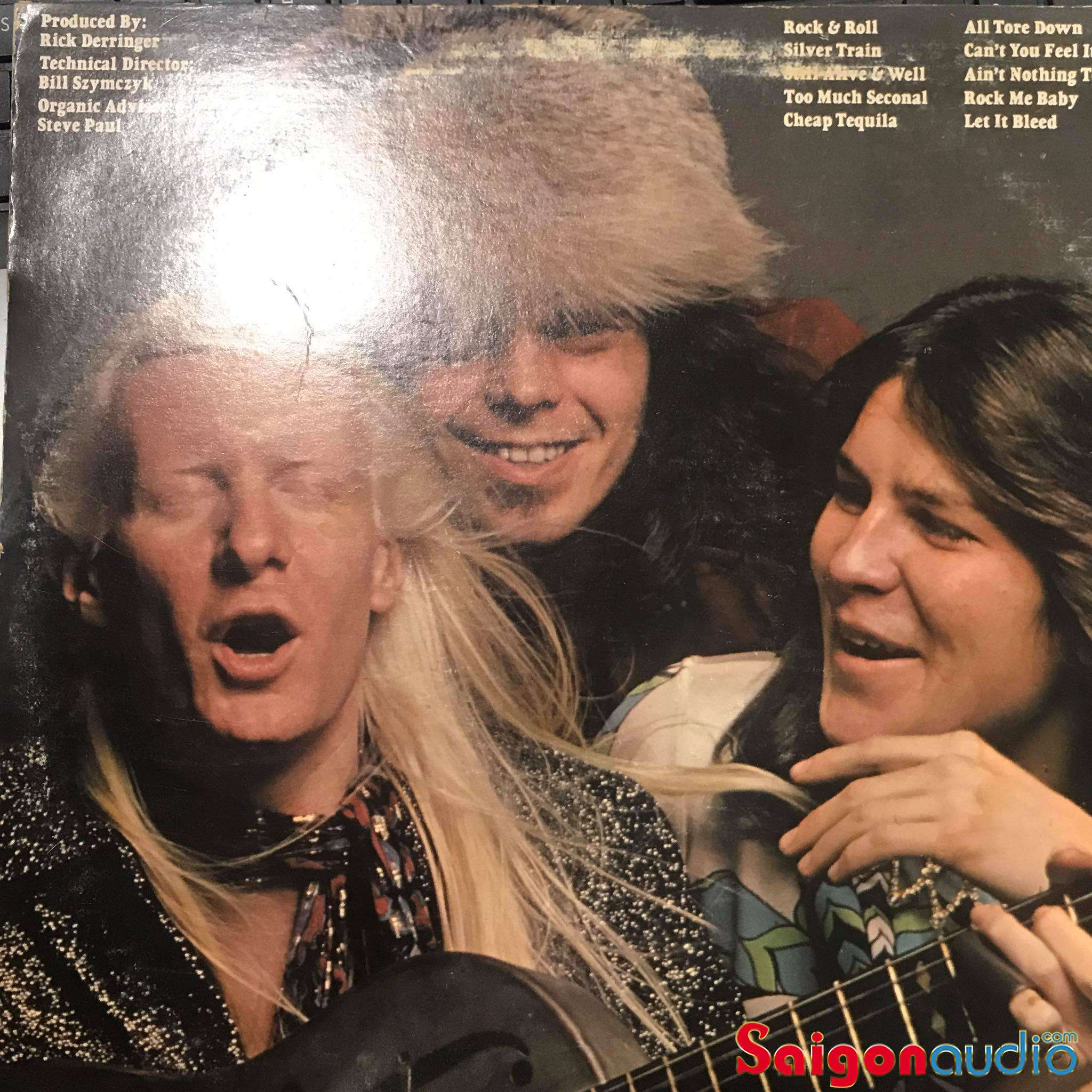 Đĩa than LP Johnny Winter - Still Alive And Well (1973)