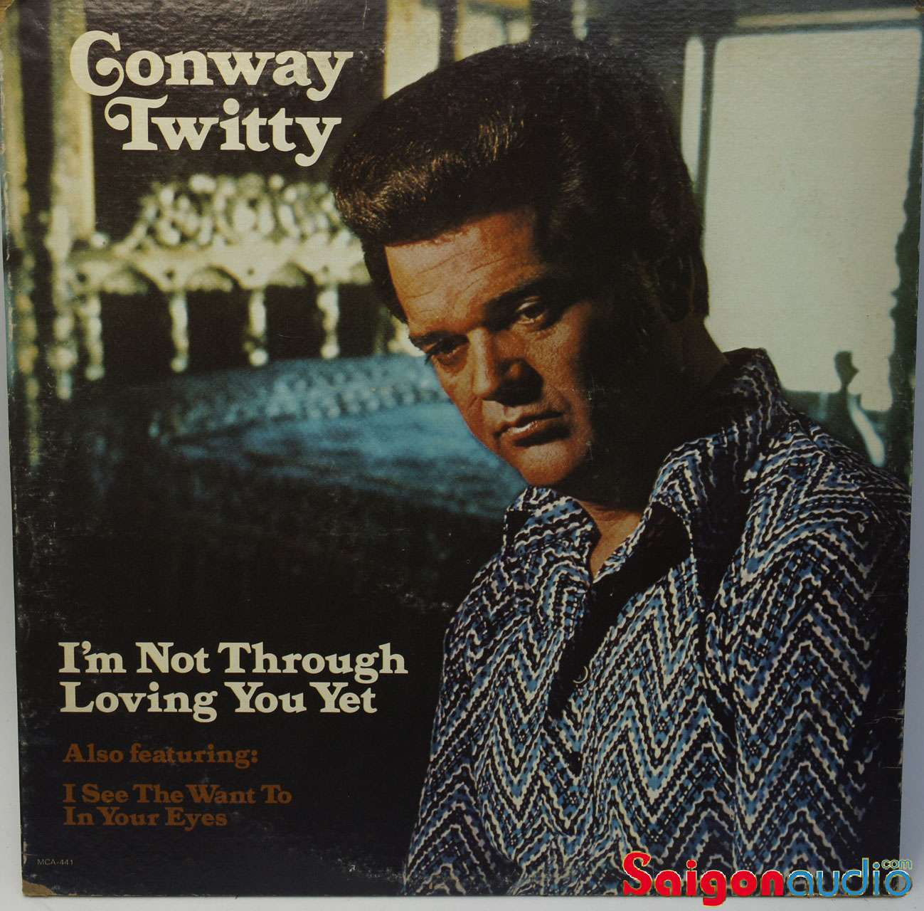 Đĩa than LP Conway Twitty - I am Not Through Loving You Yet (1974)