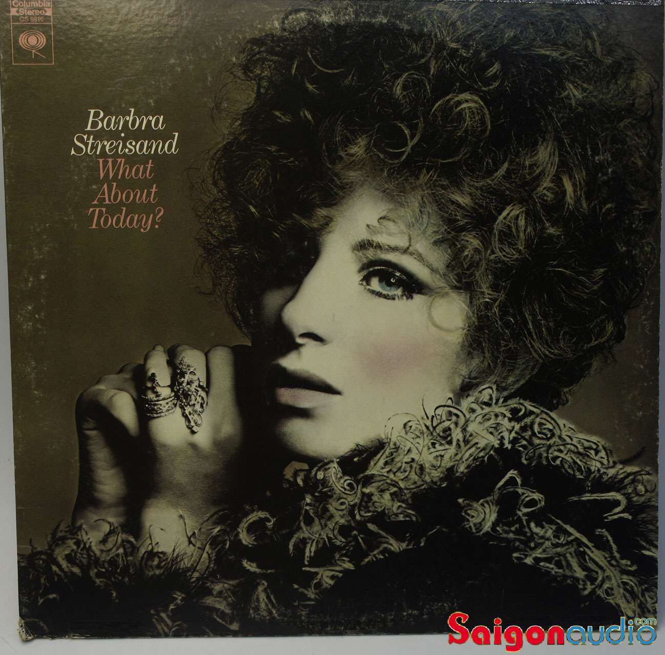 Đĩa than LP Barbra Streisand - What About Today?