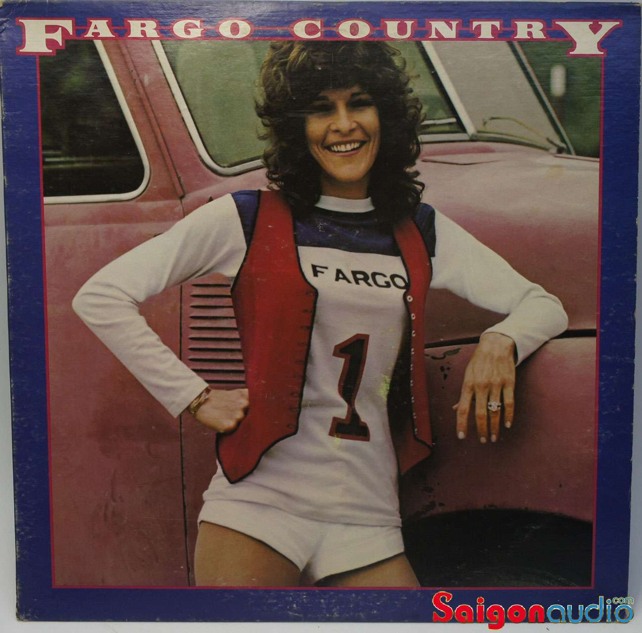 Đĩa than LP Donna Fargo - Fargo Country