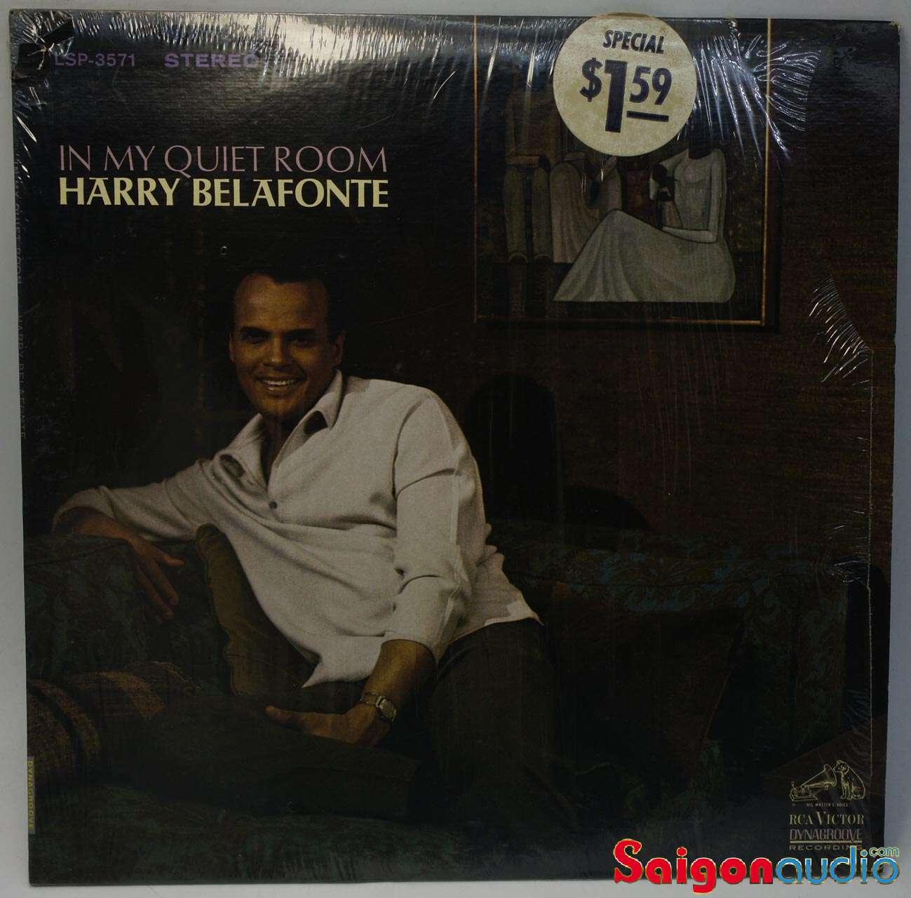 Đĩa than LP Harry Belafonte – In My Quiet Room