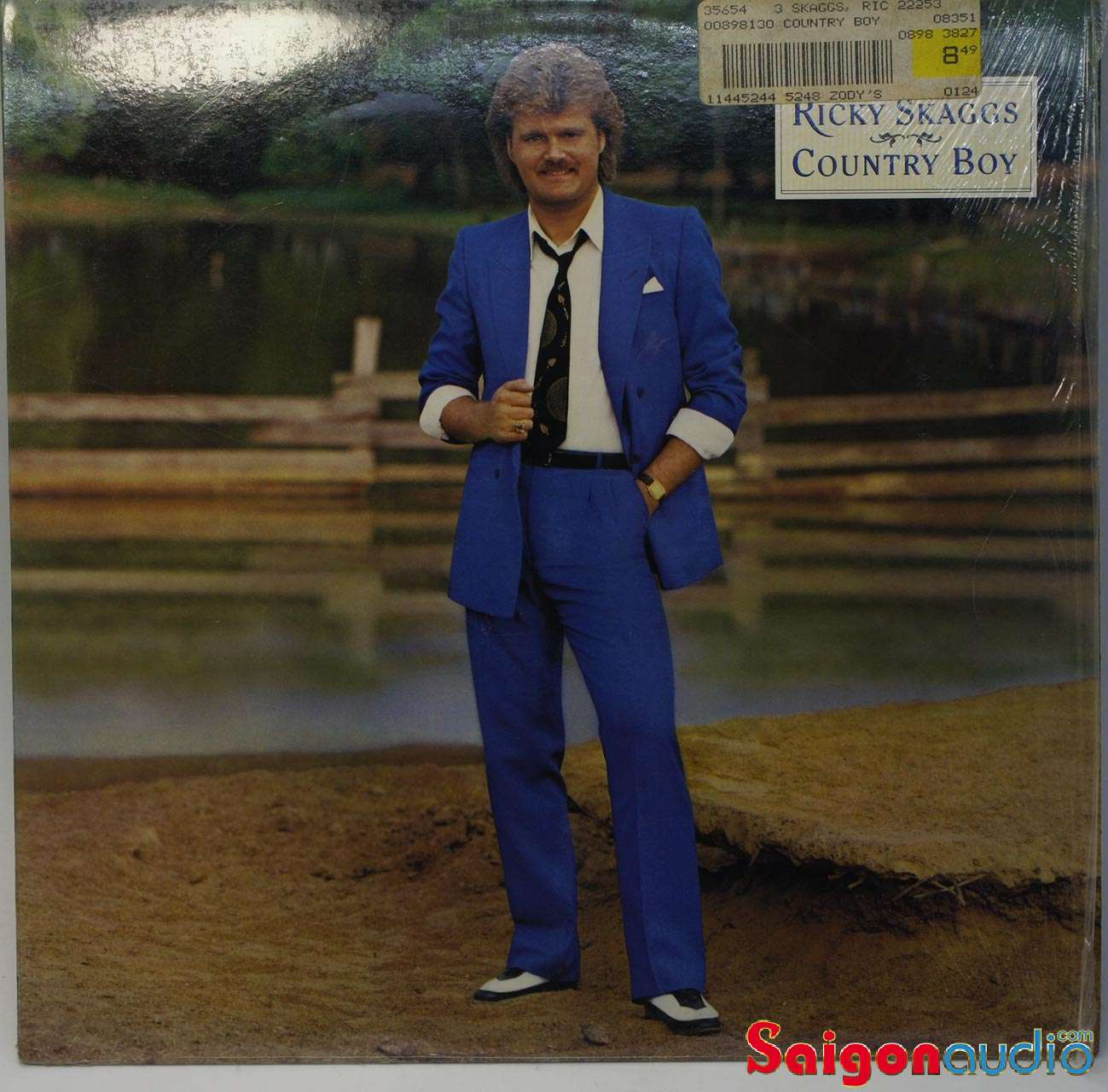 Đĩa than LP Ricky Skaggs - Country Boy (1984)
