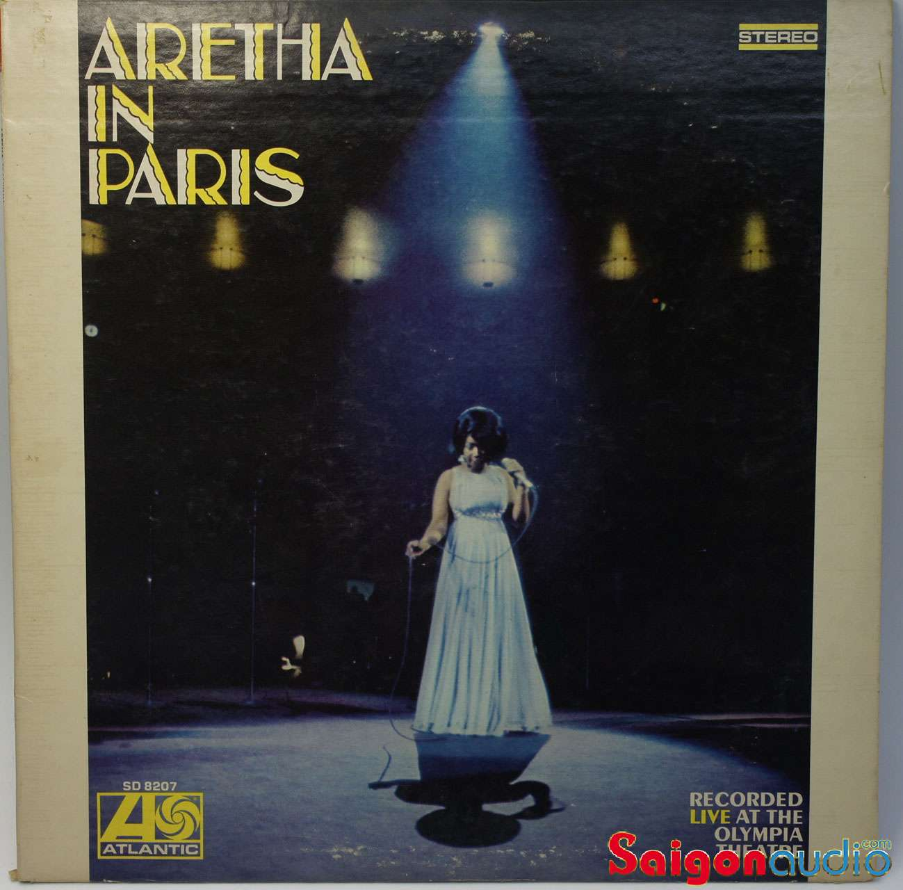 Đĩa than LP Aretha Franklin - Aretha In Paris (1968)