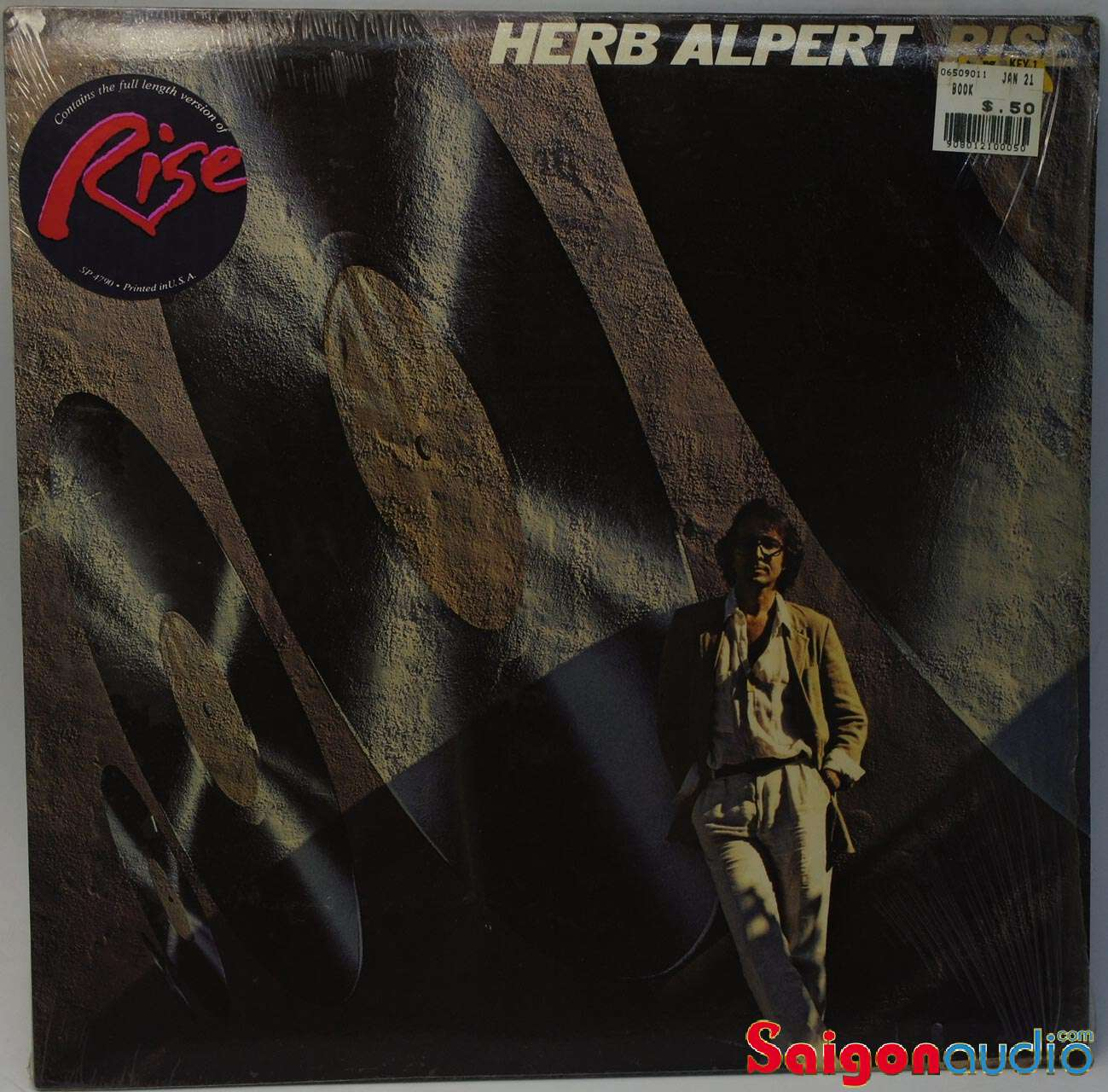 Đĩa than LP Herb Alpert - Rise (1979)