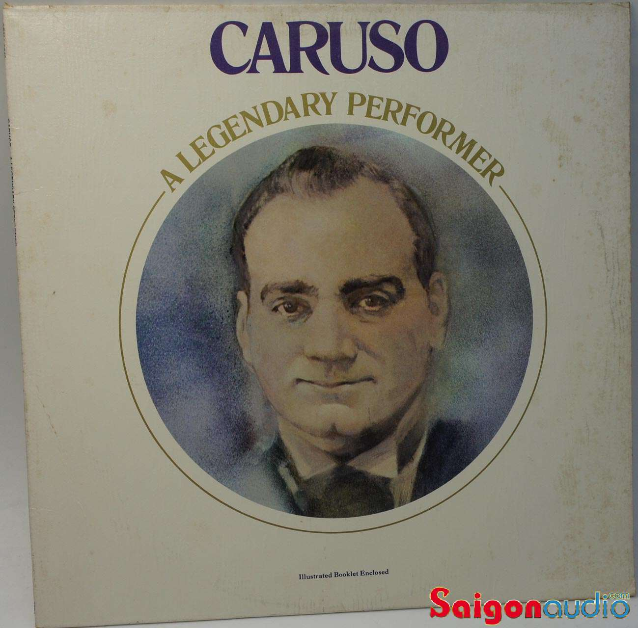 Đĩa than LP Caruso - A Legendary Performer