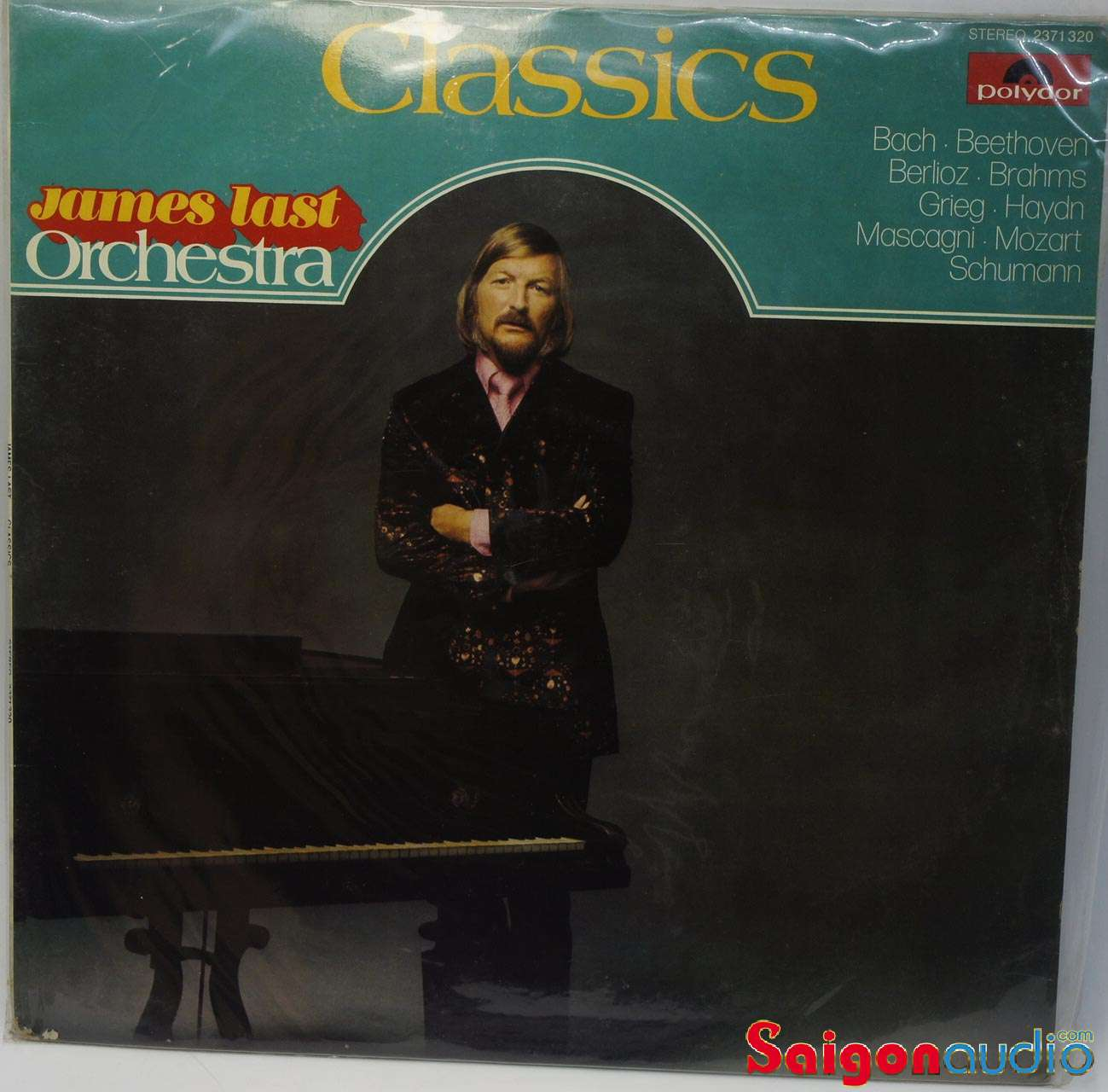 Đĩa than LP James Last Orchestra Classics (Bach, Beethoven, Berlioz, Brahms, Mozart, Schuman)