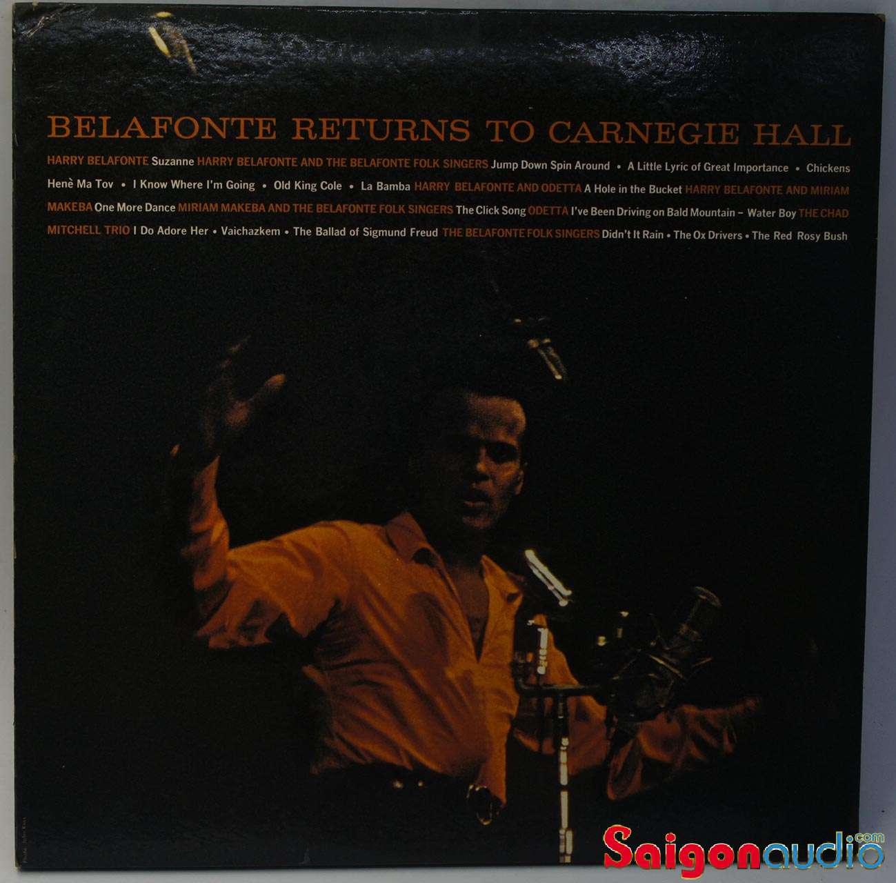 Đĩa than LP Harry Belafonte - Belafonte Returns To Carnegie Hall (1960) (2 đĩa)