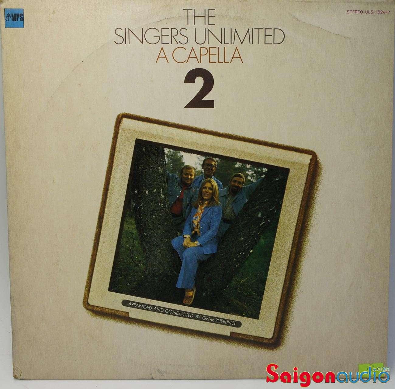 Đĩa than LP The Singers Unlimited – A Capella 2