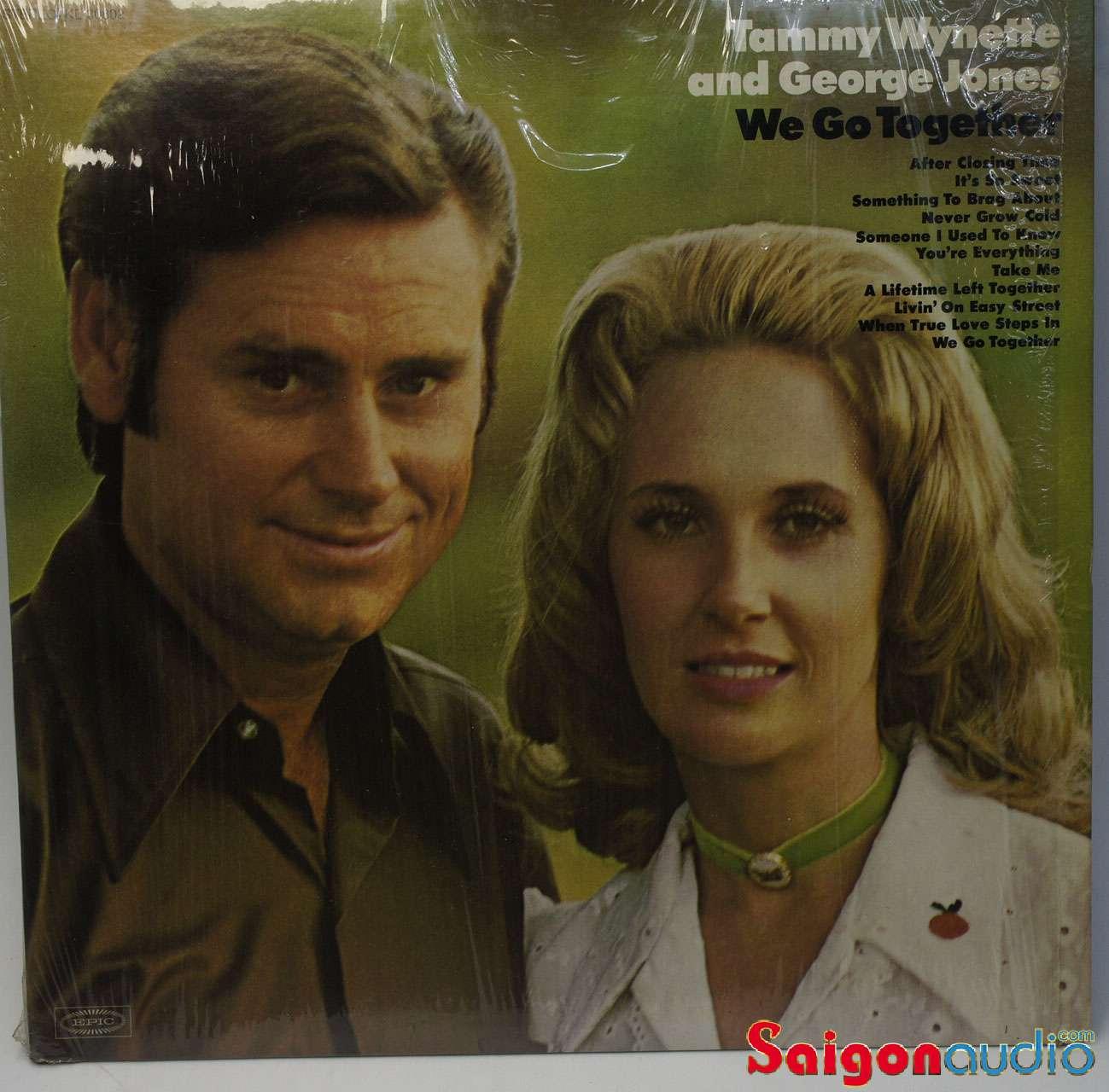 Đĩa than LP Tammy Wynette & George Jones – We Go Together