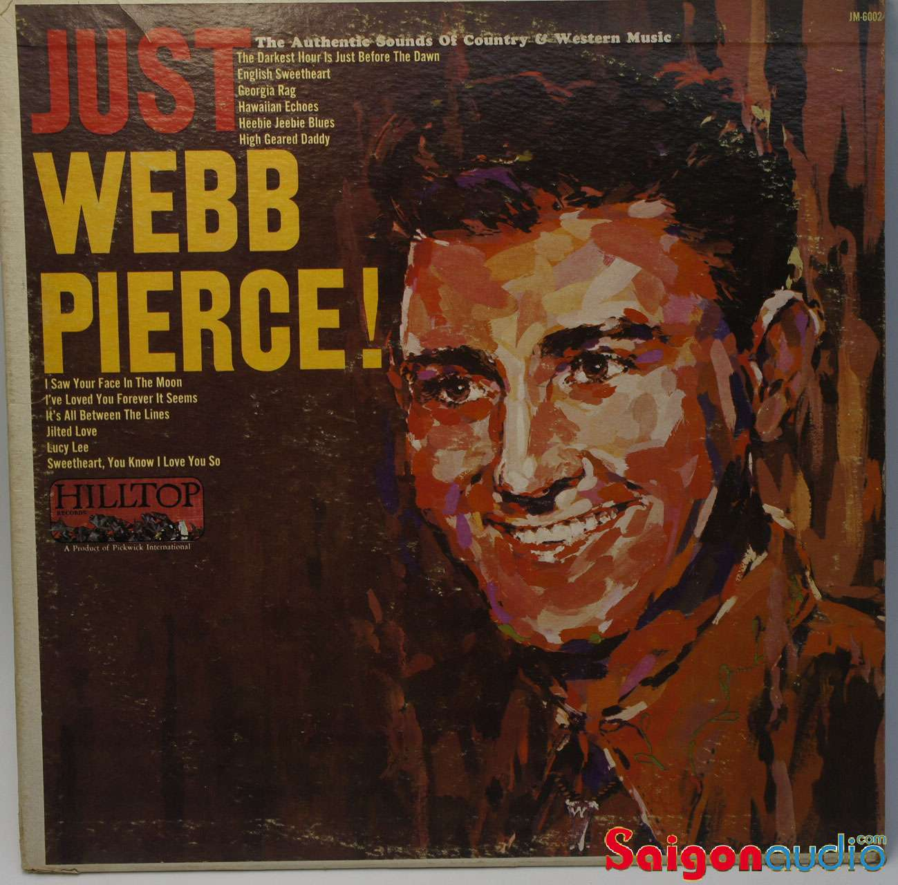 Đĩa than LP Webb Pierce - Just Webb Pierce (1965)