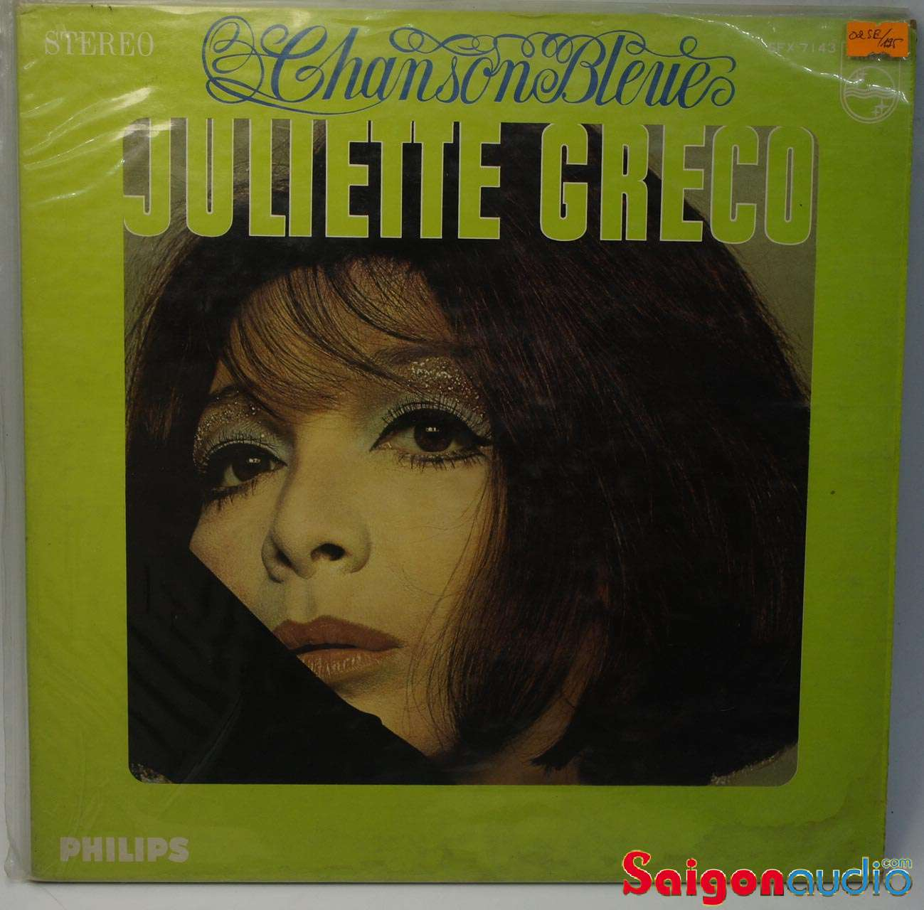 Đĩa than LP Juliette Gréco - Chanson Bleue
