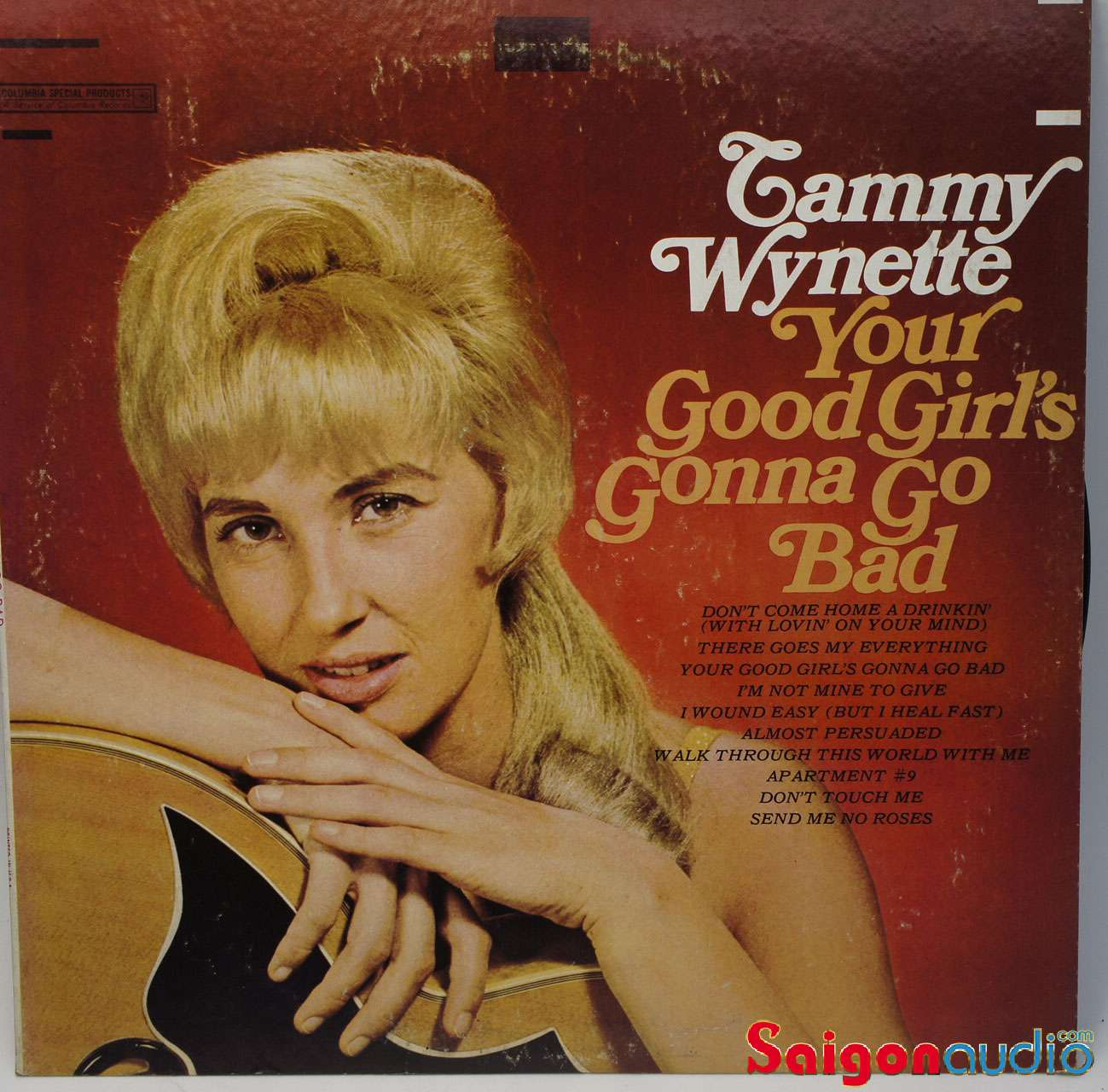 Đĩa than LP Tammy Wynette - Your Good Girl s Gonna Go Bad