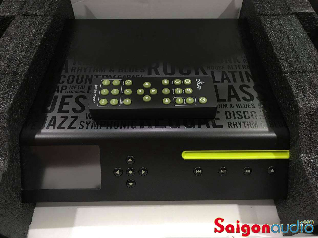 Olive 03 HD Music Server / CD Player, màn hình cảm ứng, HDD 500GB