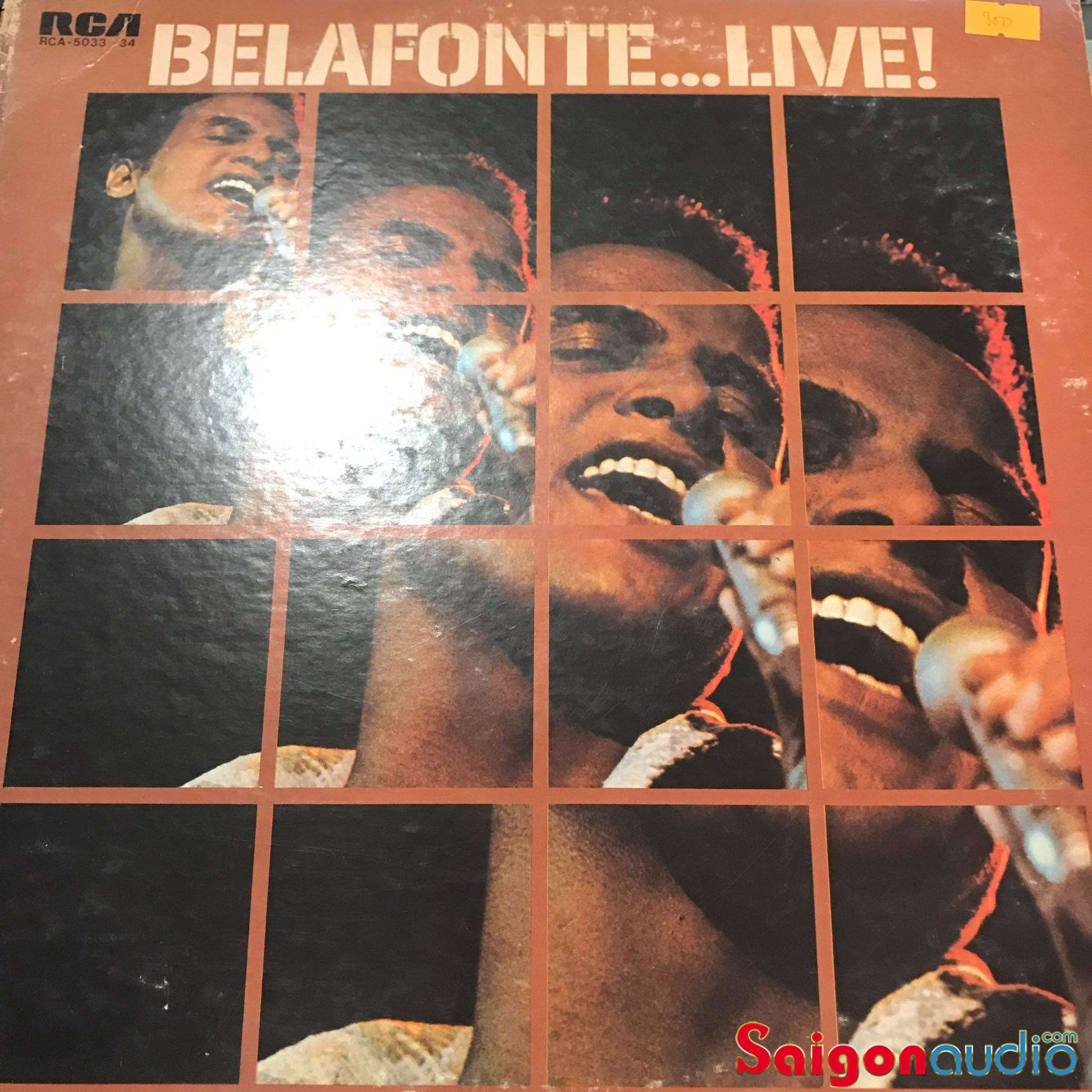 Đĩa than LP Harry Belafonte - Belafonte ...Live!