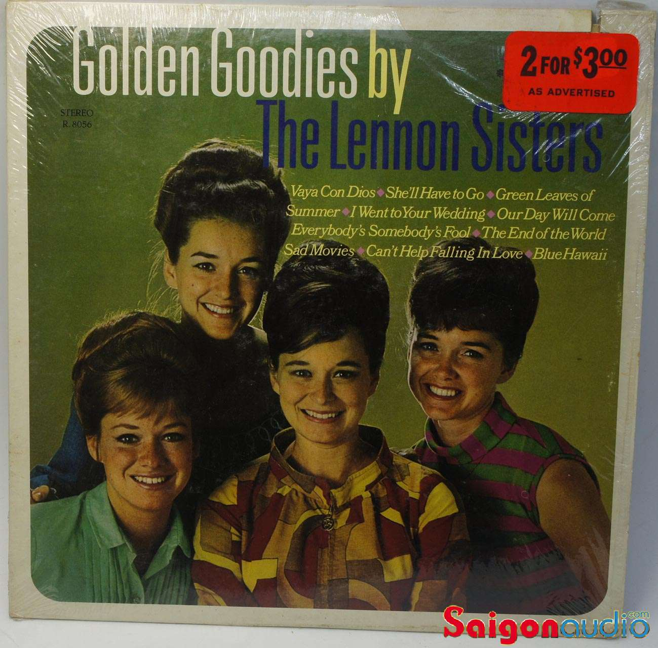Đĩa than LP The Lennon Sisters & Cousins ‎– Golden Goodies by The Lennon Sisters