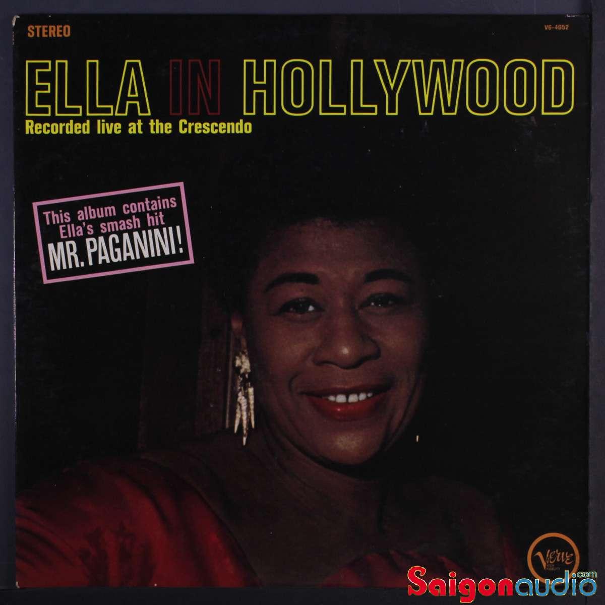 Đĩa than LP Ella Fitzgerald - Ella In Hollywood