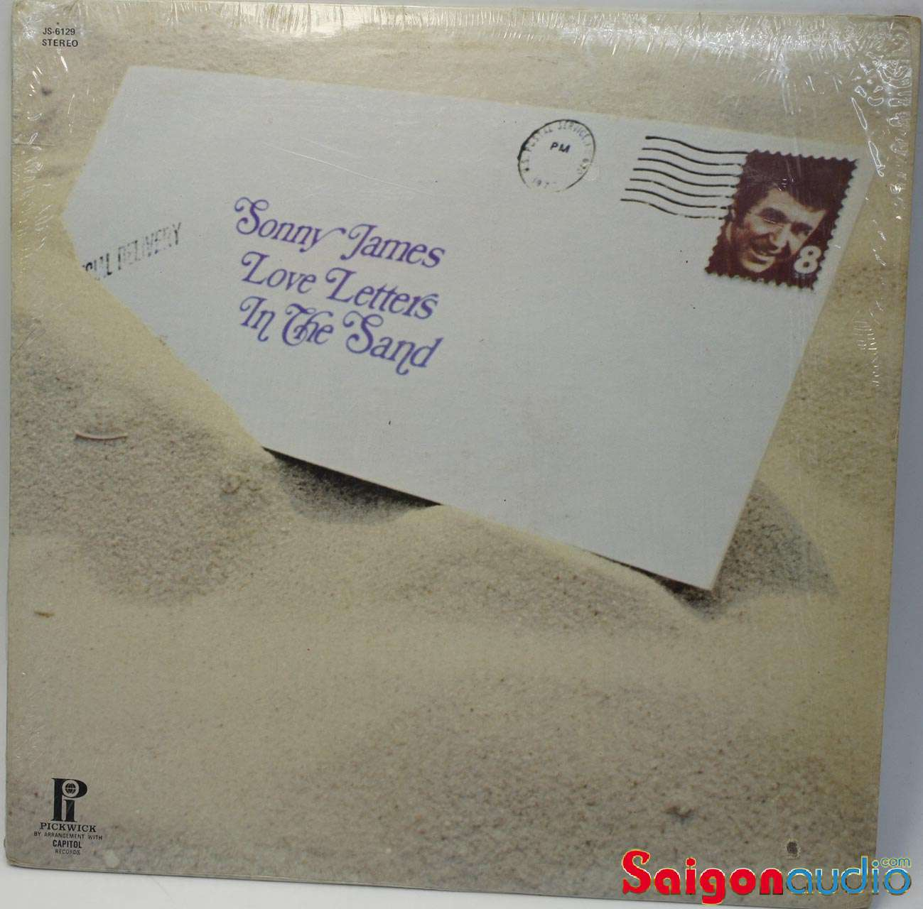 Đĩa than LP Sonny James - Love Letters In The Sand