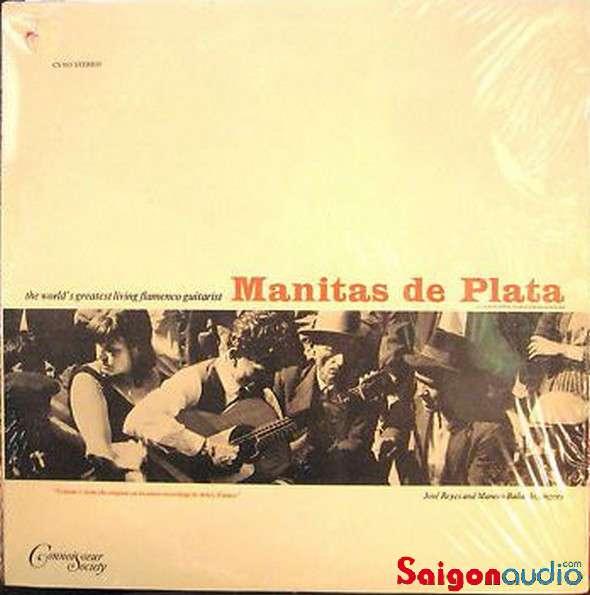 Đĩa than LP Manitas De Plata - Flamenco Guitar, Volume 2
