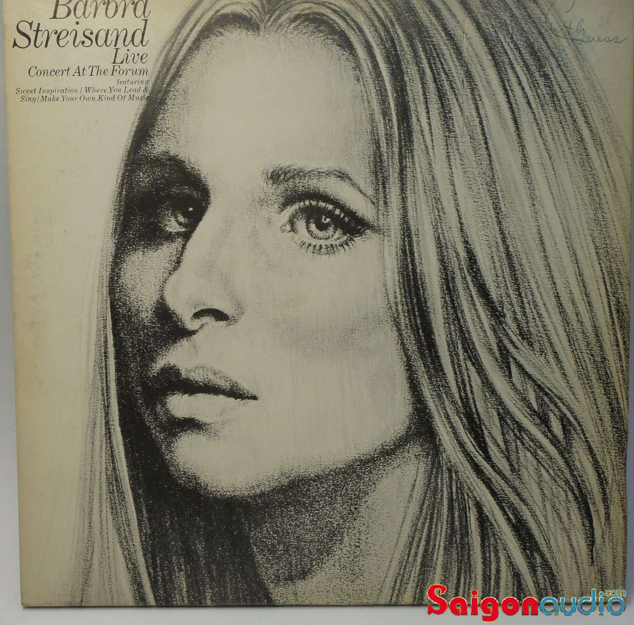 Đĩa than LP Barbra Streisand - Live Concert At The Forum (1972)
