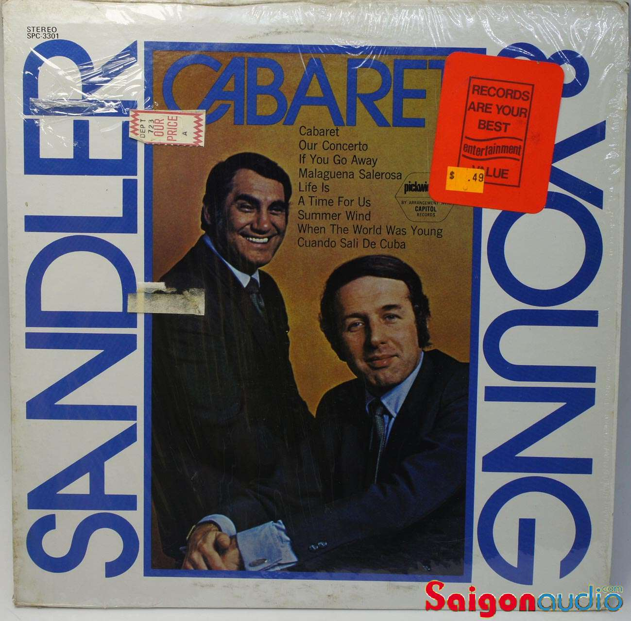 Đĩa than LP Sandler & Young - Cabaret