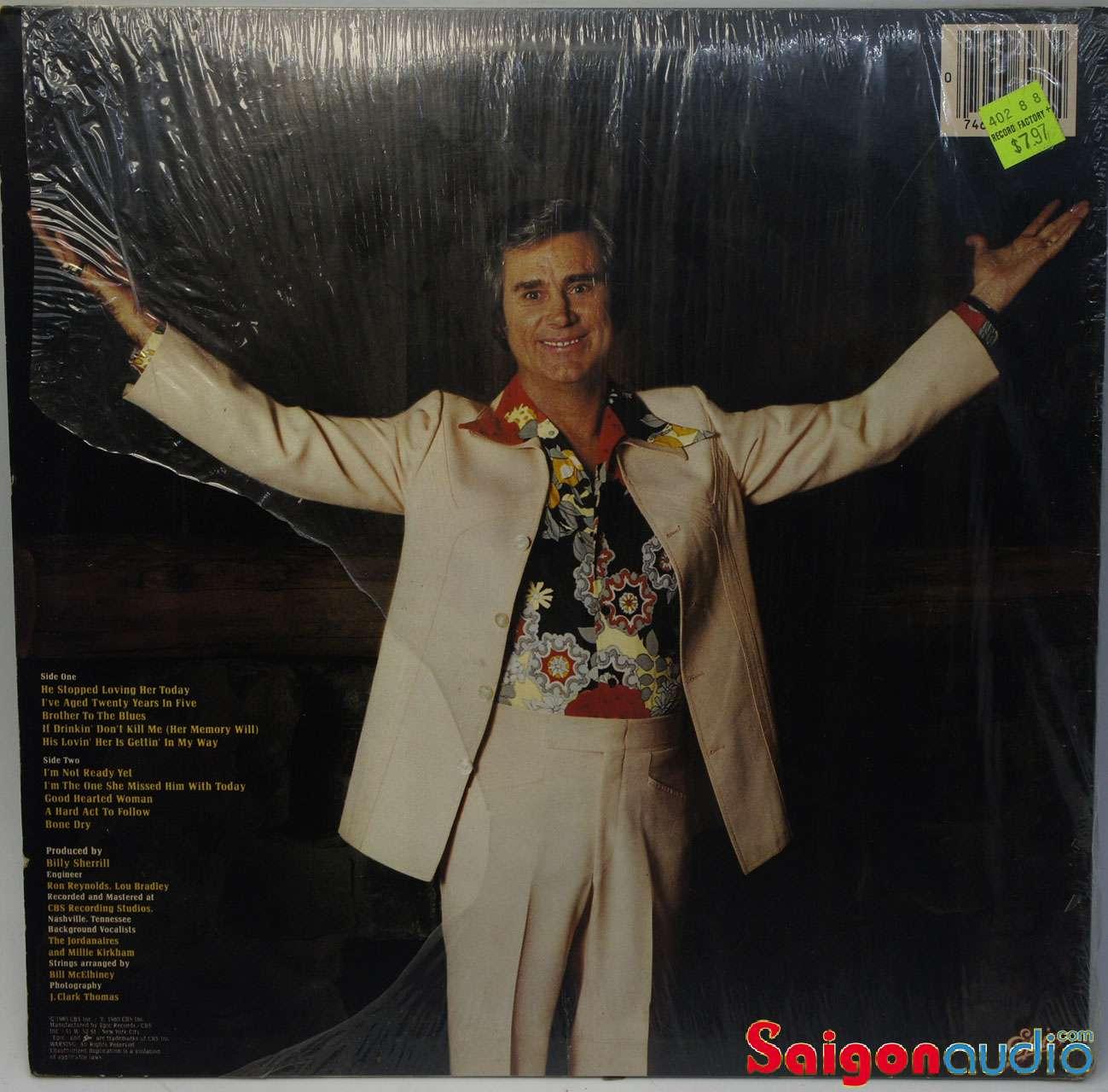Đĩa than LP George Jones - I Am What I Am (1980)