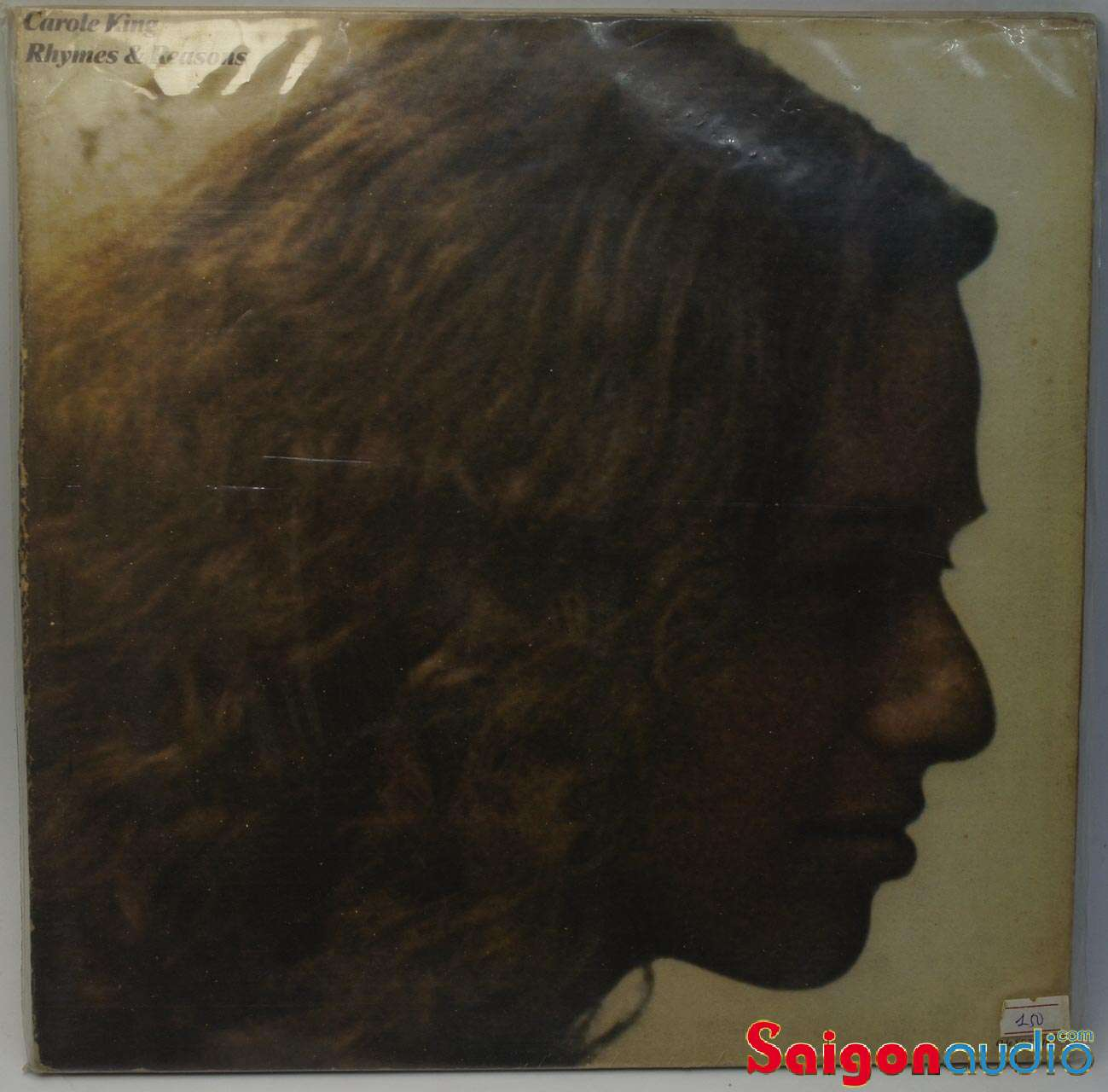 Đĩa than LP Carole King - Rhymes & Reasons (1972)