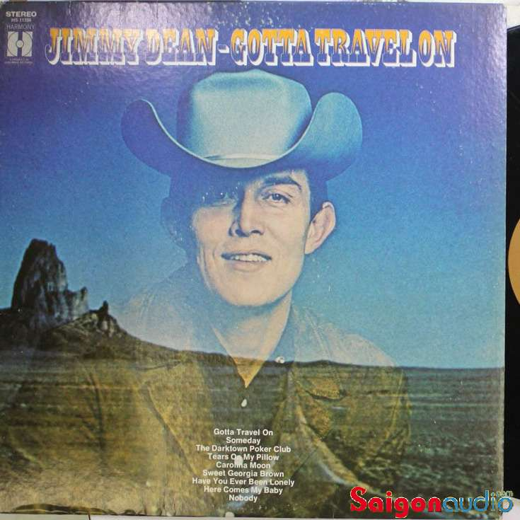 Đĩa than LP Jimmy Dean - Gotta Travel On