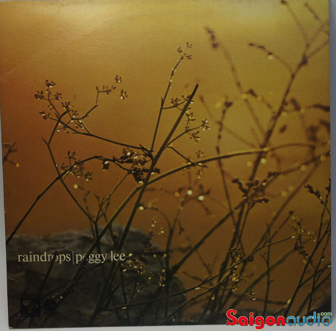 Đĩa than LP Peggy Lee - Raindrops