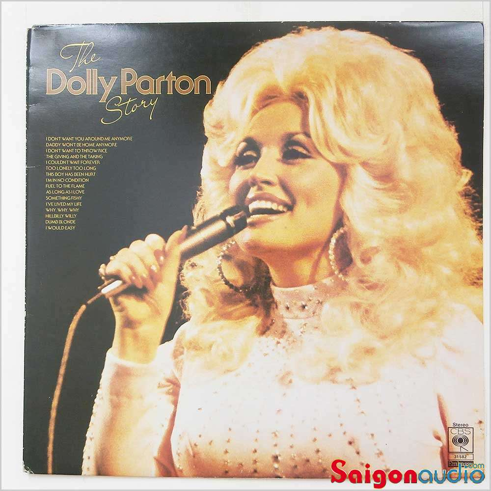 Đĩa than LP Dolly Parton – The Dolly Parton Story