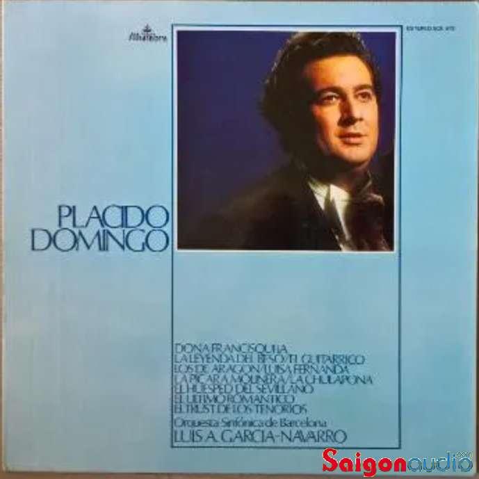 Đĩa than LP Placido Domingo Doña francisquita La leyenda del Beso Orquesta sinfonica de Barcelona
