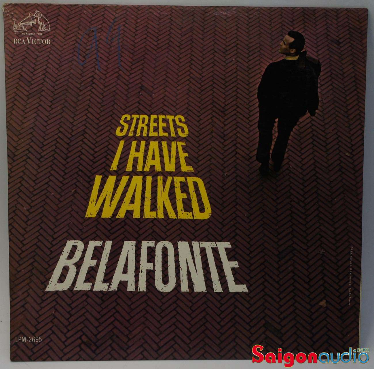 Đĩa than LP Harry Belafonte - Streets I Have Walked