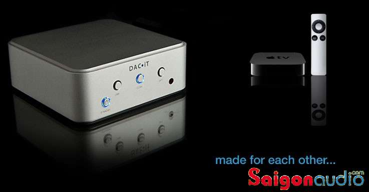 DAC chơi nhạc số DAC•iT | Peachtree Audio (USB, Coaxial, Optical)