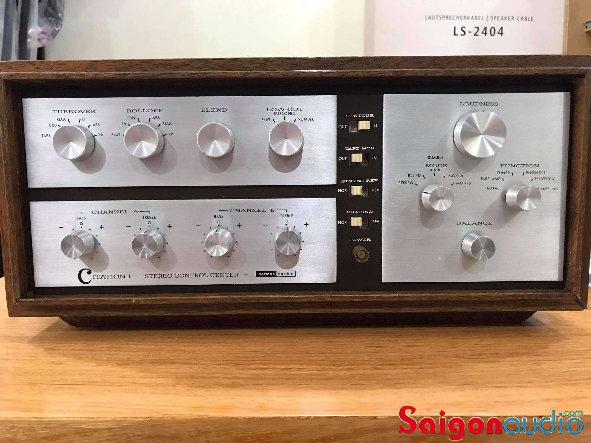 Pre đèn phono Harman Kardon Citation I