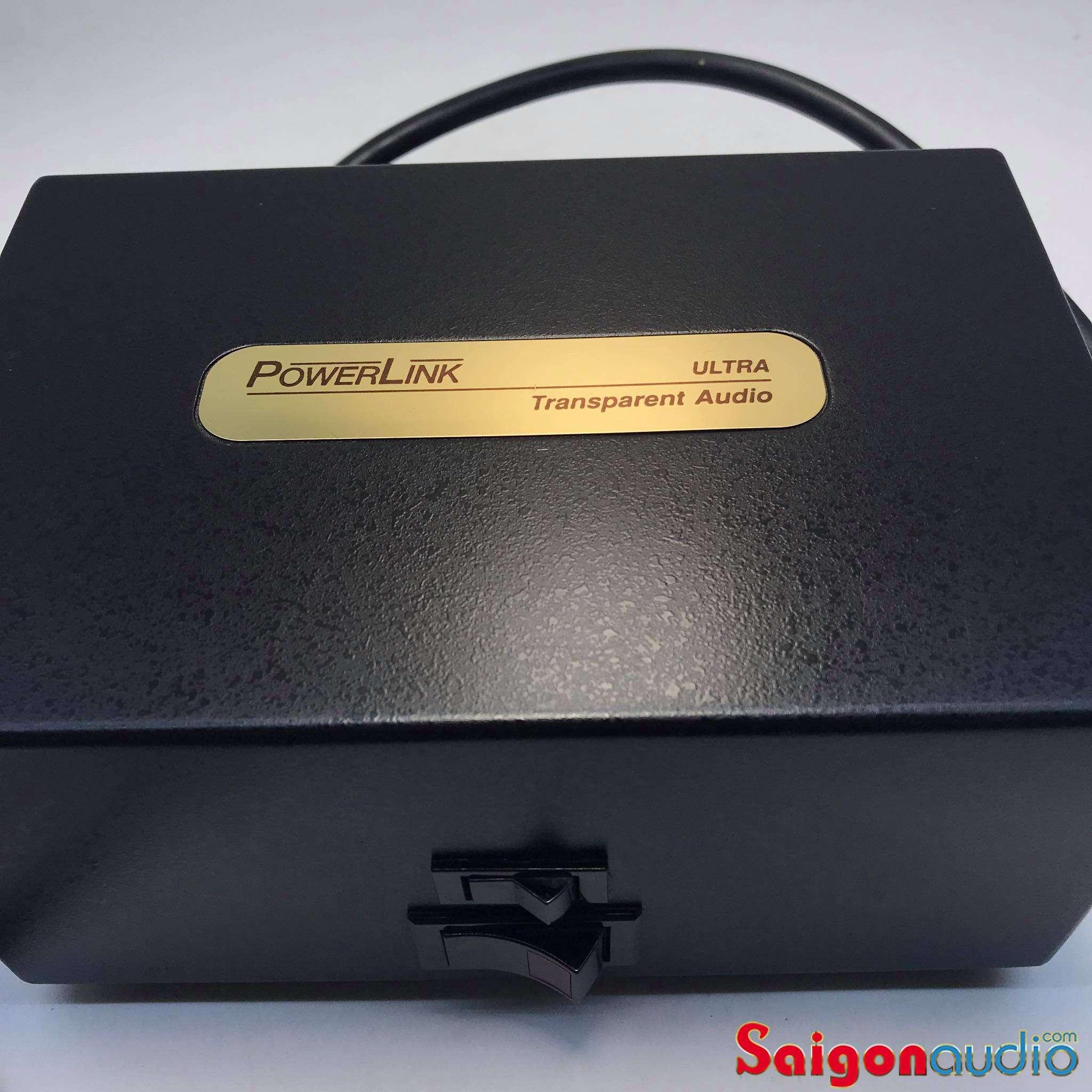 Lọc nguồn 8 ổ Transparent Audio Powerlink Ultra Power Conditioner