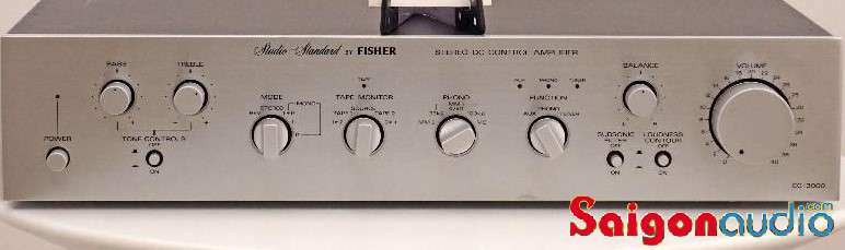 Pre amplifier phono MM / MC Fisher CC-3000