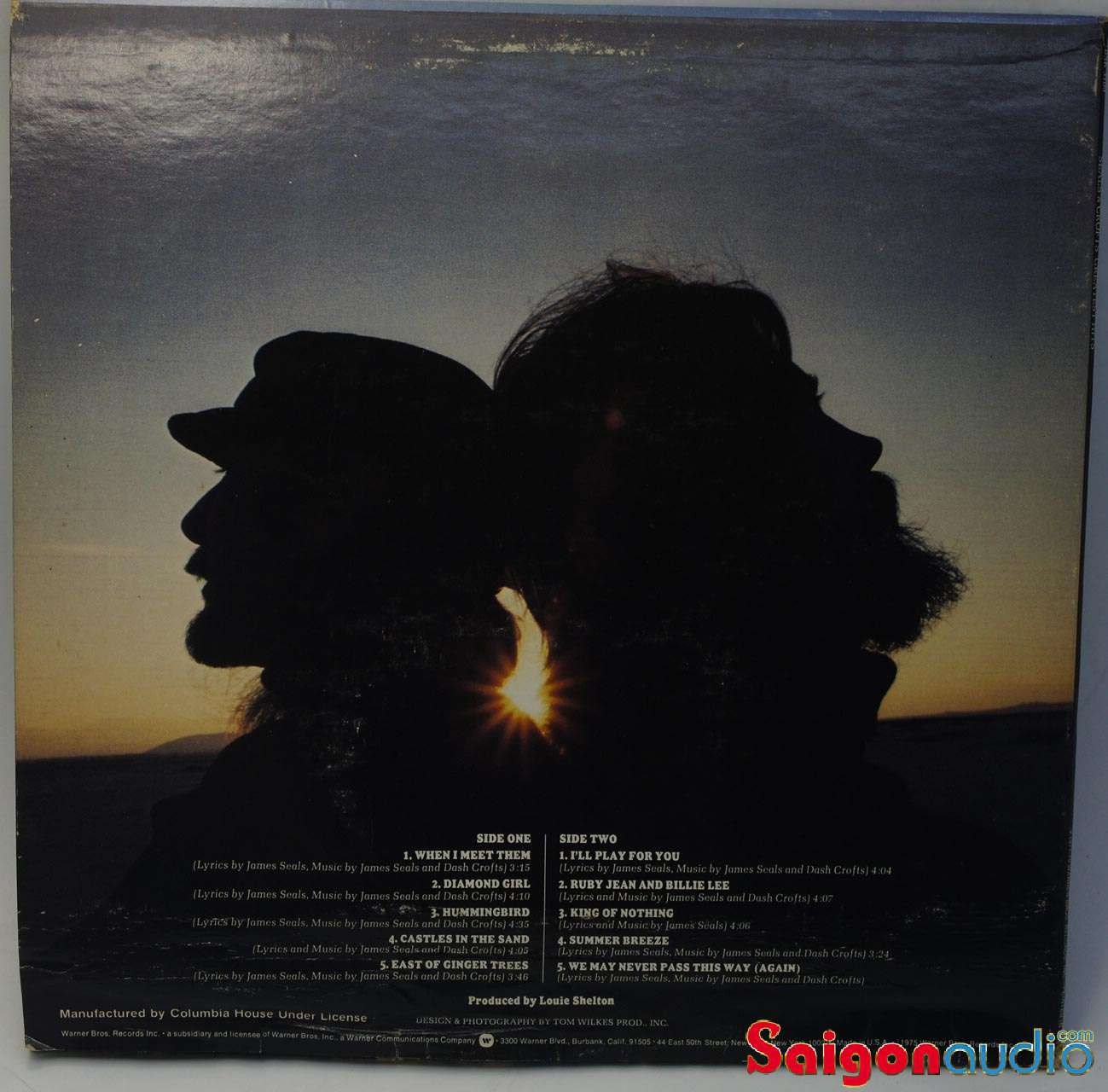 Đĩa than Seals & Crofts - Greatest Hits | LP Vinyl Records