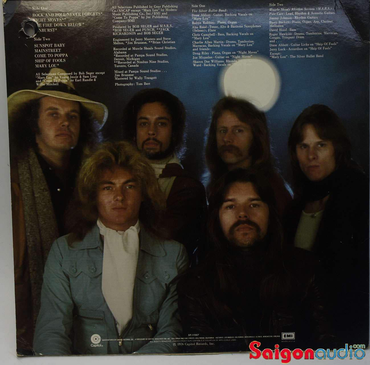 Đĩa than Bob Seger & The Silver Bullet Band – Night Moves | LP Vinyl Records
