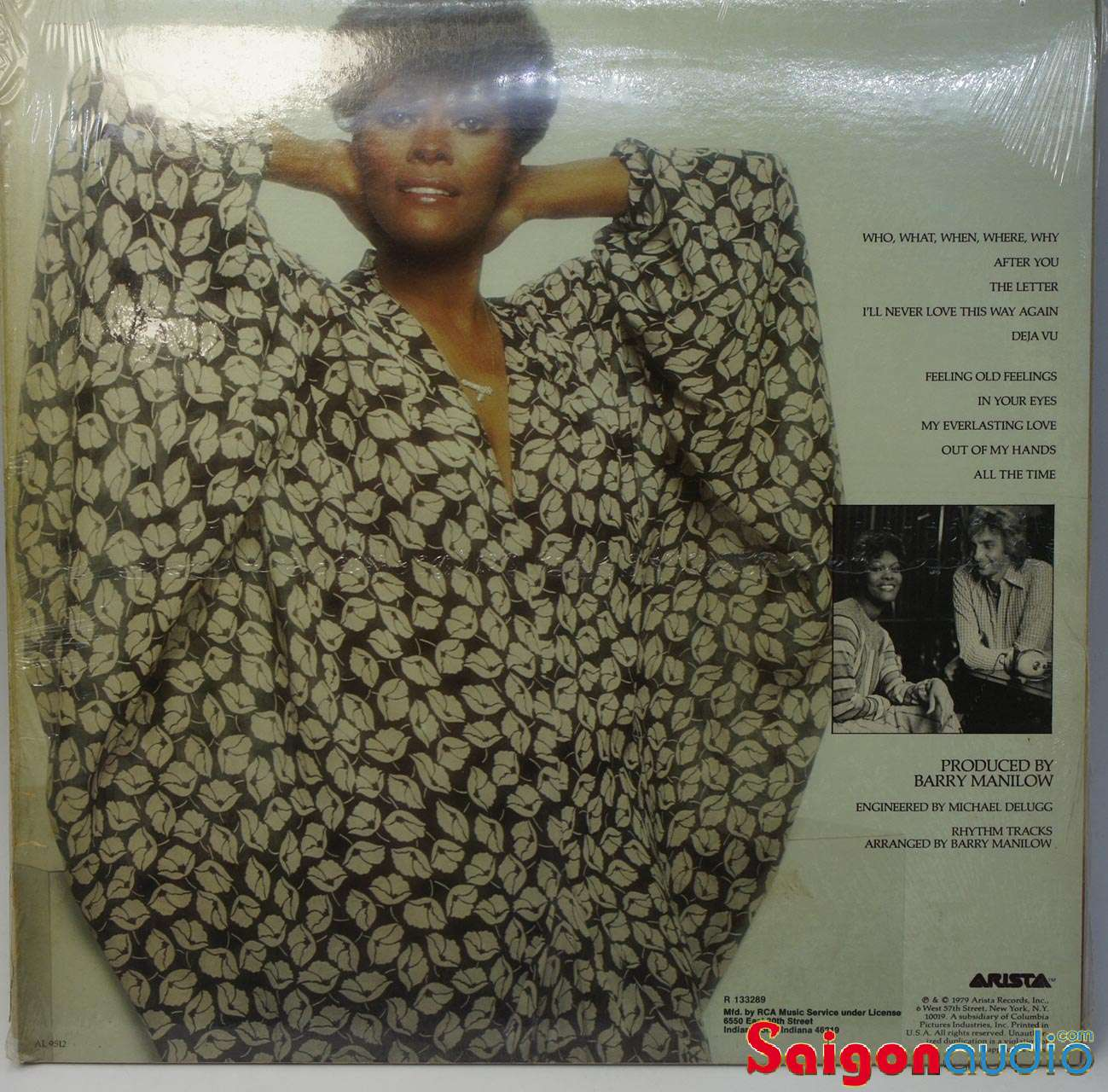 Đĩa than Dionne Warwick ‎– Dionne | LP Vinyl Records