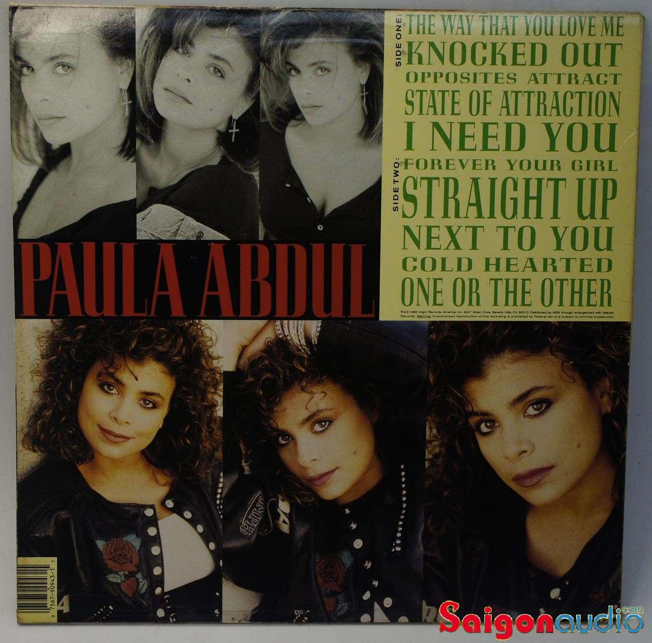 Đĩa than Paula Abdul - Forever your girl (1988) | LP Vinyl Records
