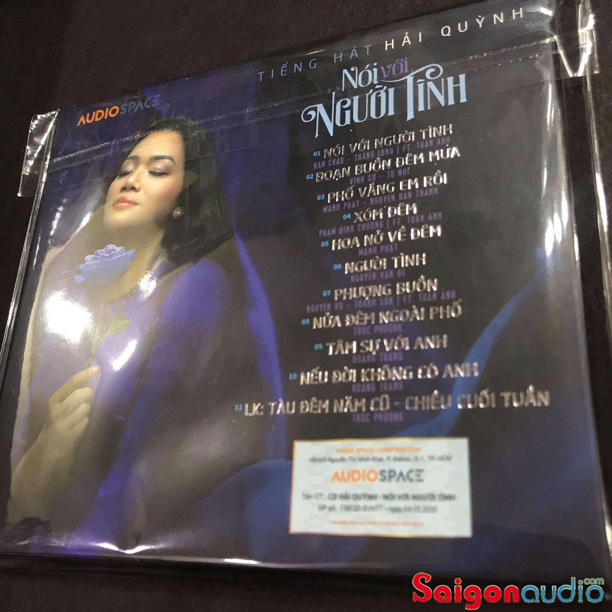 Đĩa CD gốc Nói Với Người Tình - Tiếng hát Hải Quỳnh (Free ship khi mua 2 đĩa CD cùng hoặc khác loại)